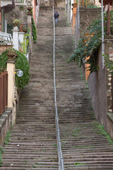 Steep Stairway La Spezia Liguria Italy © Paul