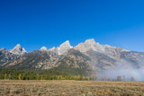 Scenic Teton Landscape in Autumn
