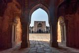 Ruins of Begumpur Mosque in New Delhi. India
