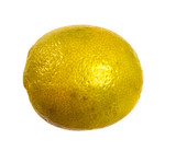 ripe lime flavored. on a white background