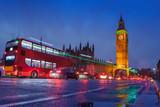 London city scene with Big Ben landmark
