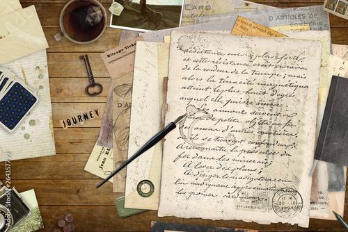 Vintage letters and accessoires © reichdernatur