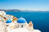 Santorini island, Greece. Famous travel destination