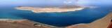 île de La Graciosa vue de Lanzarote, Canaries