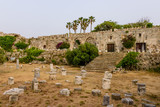 Neratzia fortress, a popular tourist and architectural attraction, Kos island, Kos island, Dodecanese, Greece