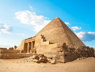 Ruins in Giza