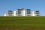 Cuxhaven, Appartemnet-Häuser am Deich