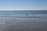Strand von Sankt Peter Ording Bad bei Ebbe