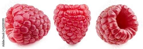 Raspberry Collection Clipping Path © atoss