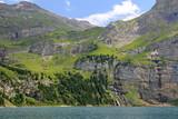 Oeschinensee, Alpen, Schweiz