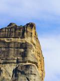 Cliffs rocky formations in Greece Meteora